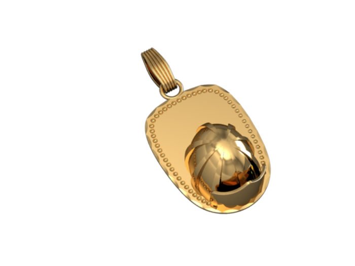 Firefighters 3D Helmet Charm - Xlarge 1