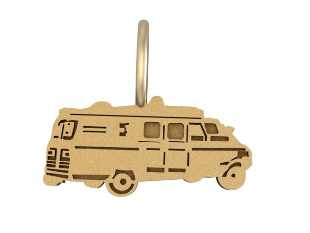 EMT Ambulance Charm 1