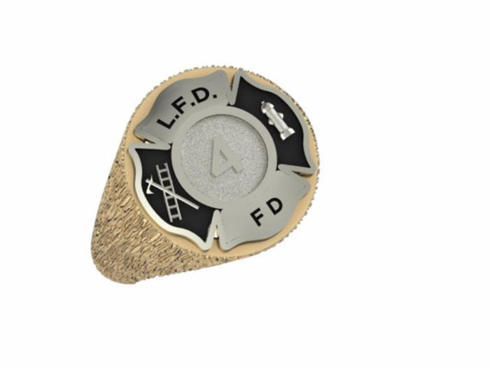 Mens Fire Department Firefighter Ring 1