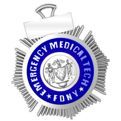FDNY EMT Pendant - Penny Size 1